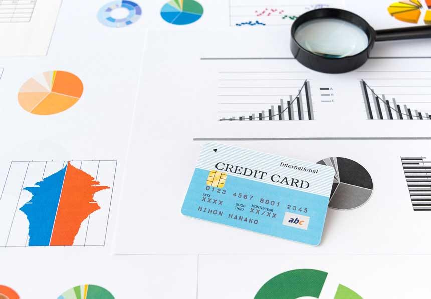 クレジットカード グラフ