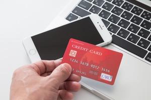ノートPC スマホとカード