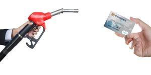 給油とカード