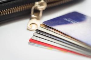 財布から出した クレジットカード